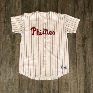 Vintage Majestic Ryan Howard #6 Phillies Jersey